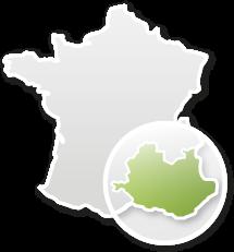 Provence - Carte de france
